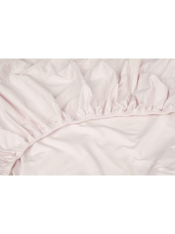 Kayori Shizu - Split Topper hoeslaken stretch - Jersey - Roze