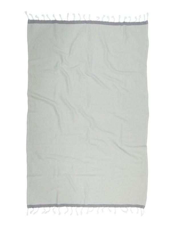 Kayori - Izu - Hamamdoek - 100x180 - Zilvergrijs/Antracite
