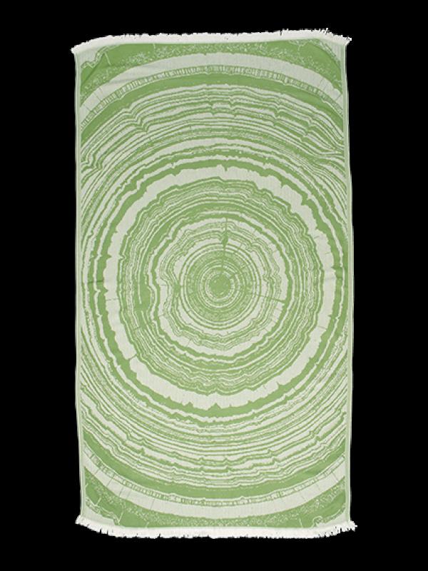 Kayori - Nobu - Hamamdoek - 100x180 - Bamboe - Olijfgroen