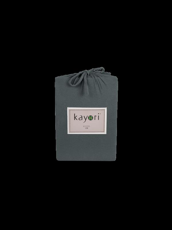 Kayori Kyoto - Topper Hoeslaken - Jersey - Antracite