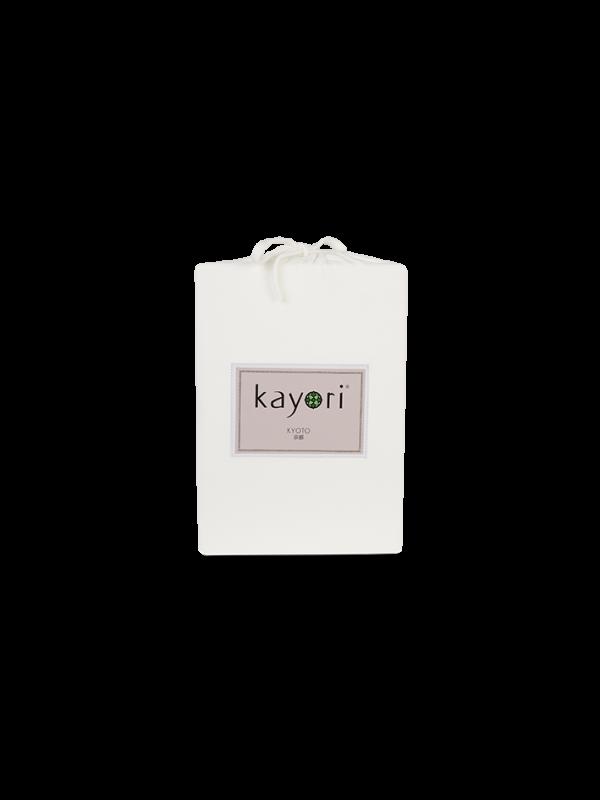 Kayori Kyoto -Splittopper Hoeslaken - Jersey - Offwhite