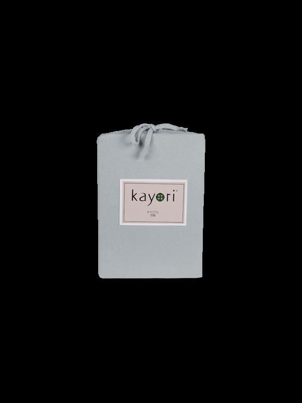 Kayori Kyoto - Hoeslaken - Jersey - Zilvergrijs