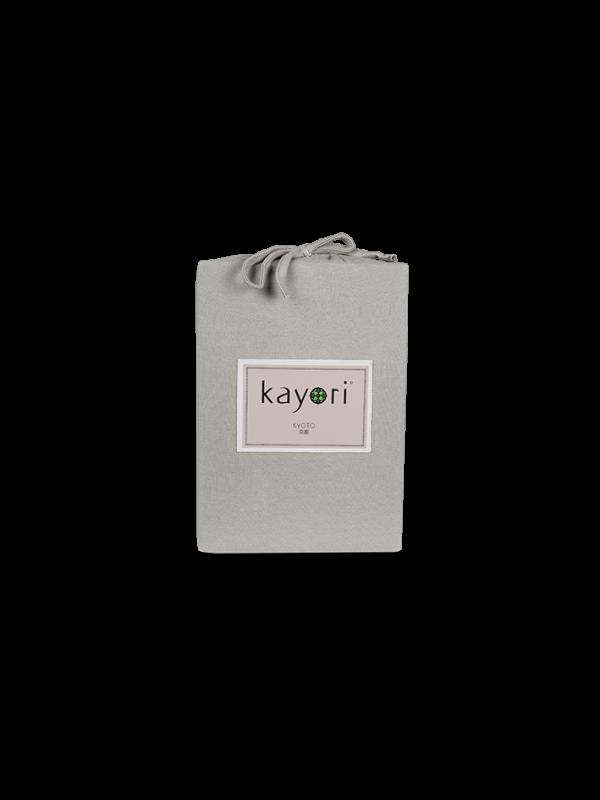 Kayori Kyoto - Splittopper Hoeslaken - Jersey - Taupe