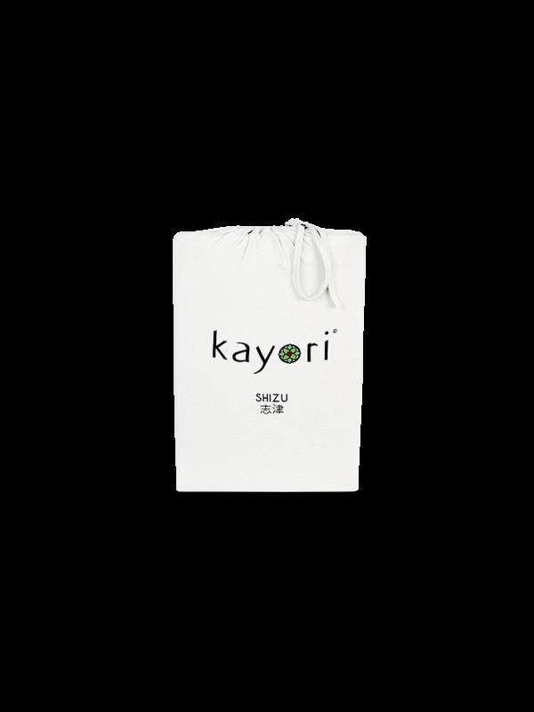 Kayori Shizu Hoeslaken stretch - Jersey - 40cm Hoek - Offwhite