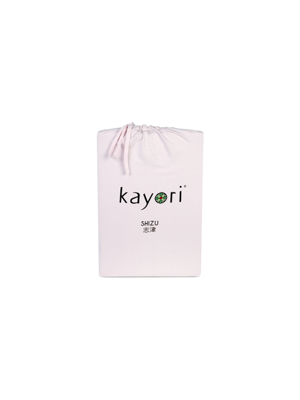 Kayori Shizu Topper hoeslaken stretch - Jersey - Roze