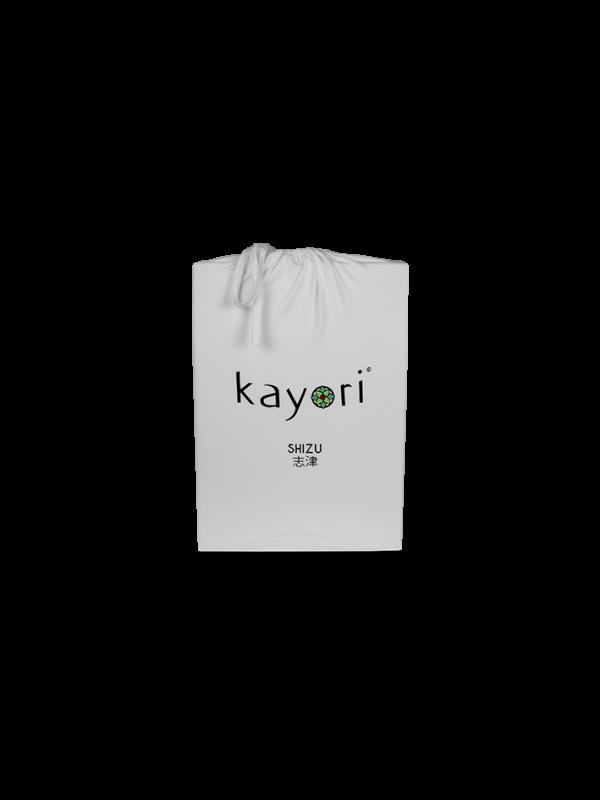 Kayori Shizu Topper hoeslaken stretch - Jersey - Zilvergrijs