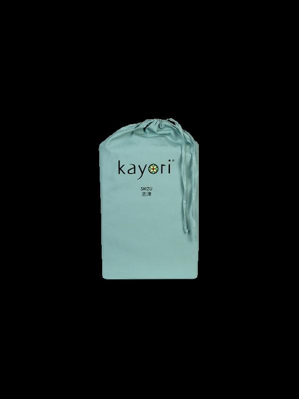 Kayori Shizu Topper hoeslaken Perkal - Groen