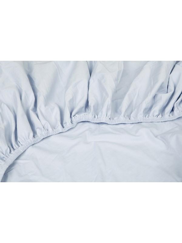 Kayori Shizu - Split Topper hoeslaken stretch - Jersey - Blauw