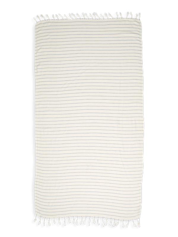 Kayori - Taki - Hamamdoek - 100x180 - Bamboe - Denim