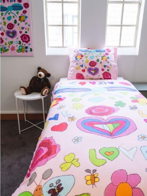 Kayori Kids - Romantisch dromen - 100% katoen - Multi