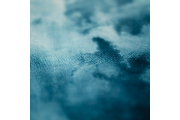 Kayori Aozora - Dekbedovertrek - Katoensatijn - Blauw
