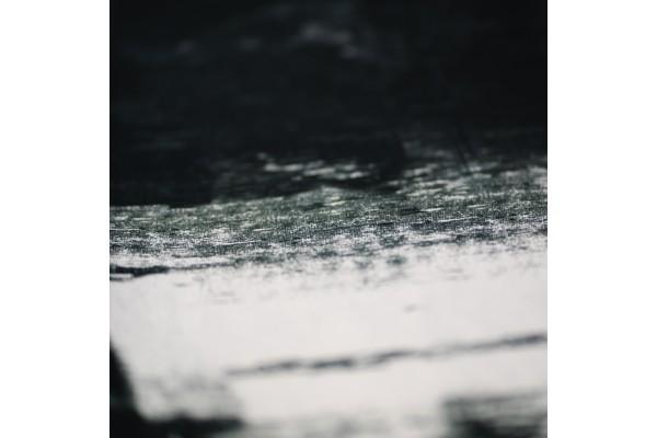 Kayori Itsuki - Dekbedovertrek - Katoensatijn - Zwart/Wit