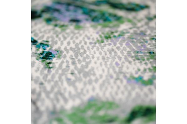 Kayori Miyagi - Dekbedovertrek - Katoensatijn - Groen