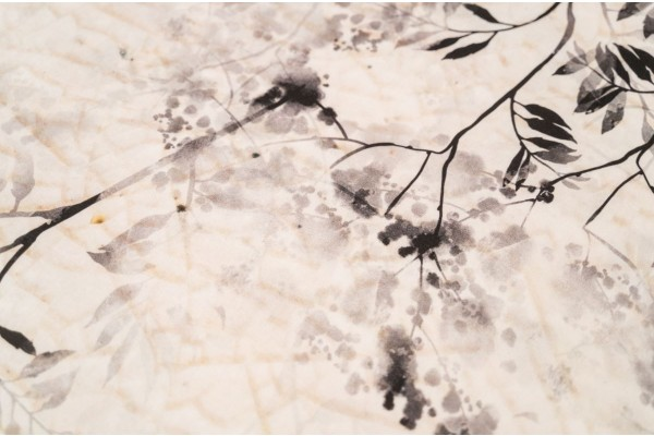 Kayori Ume - DBO - Katoensatijn - Naturel