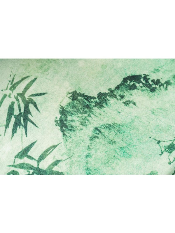 Kayori Katai - Dekbedovertrek - Tencel - Groen