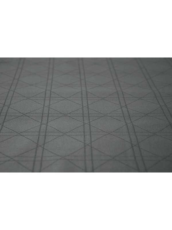 Kayori Shizu - Kussensloop - Katoensatijn - 60/70 - 1 stuk - Antracite