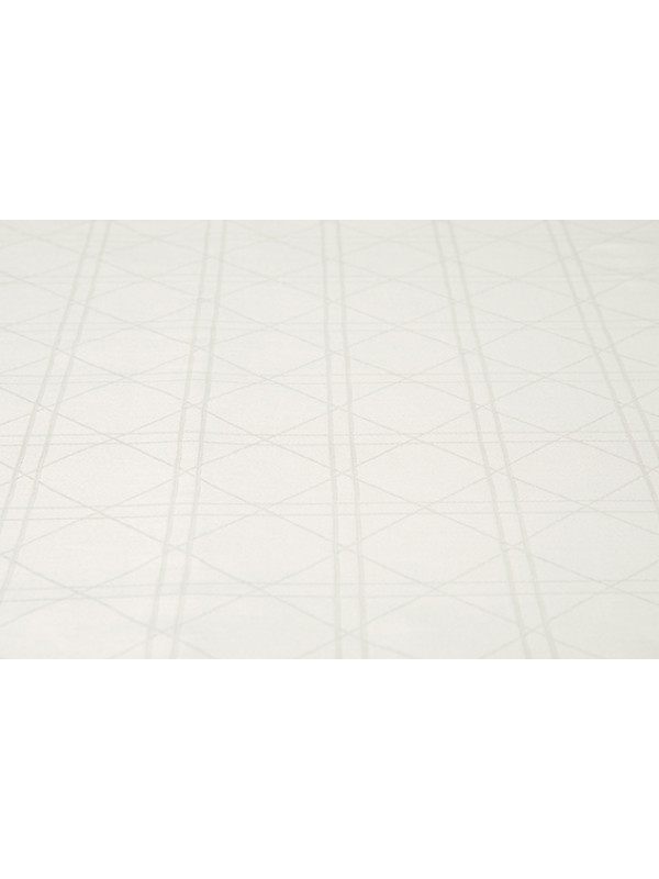 Kayori Shizu - Kussensloop - Katoensatijn - 60x70 - 1 stuk - Offwhite