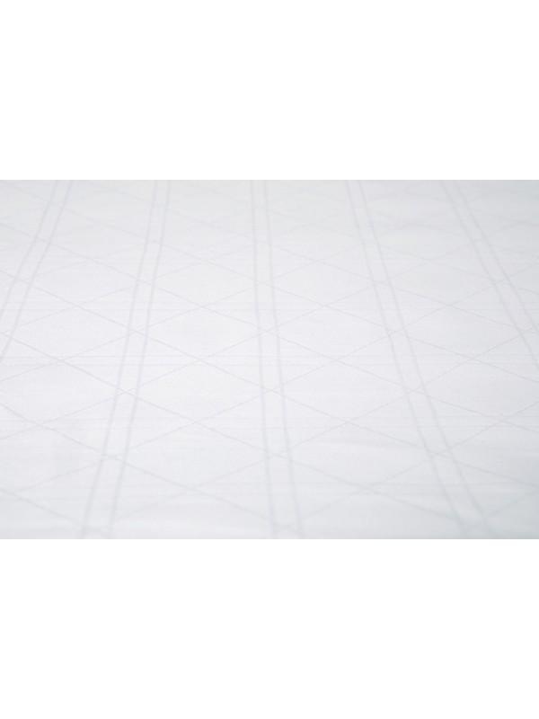 Kayori Shizu - Kussensloop - Katoensatijn - 60/70 - 1 stuk - Wit