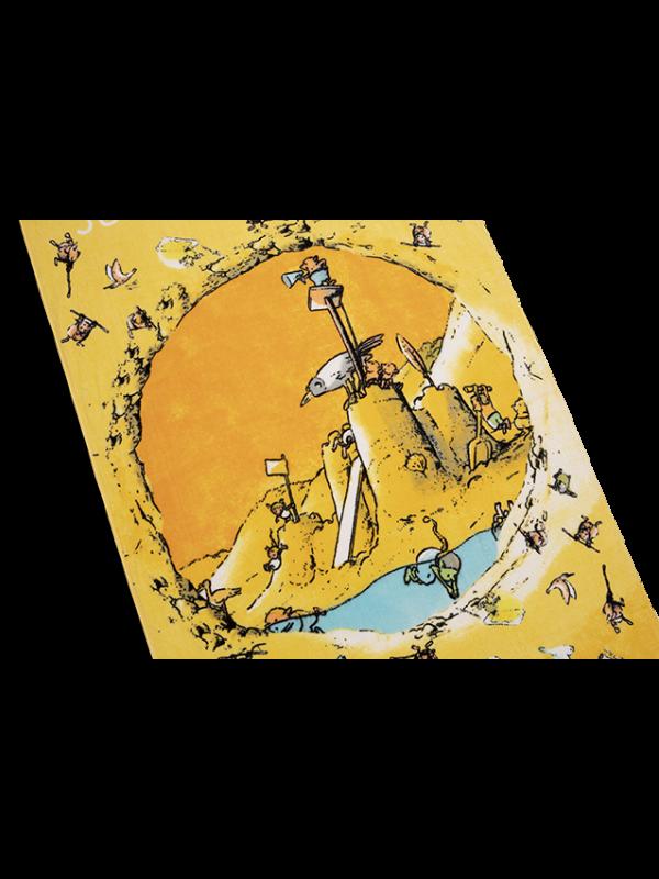 Kayori - Zwemmen met de Gorgels - Strandlaken - 75x150