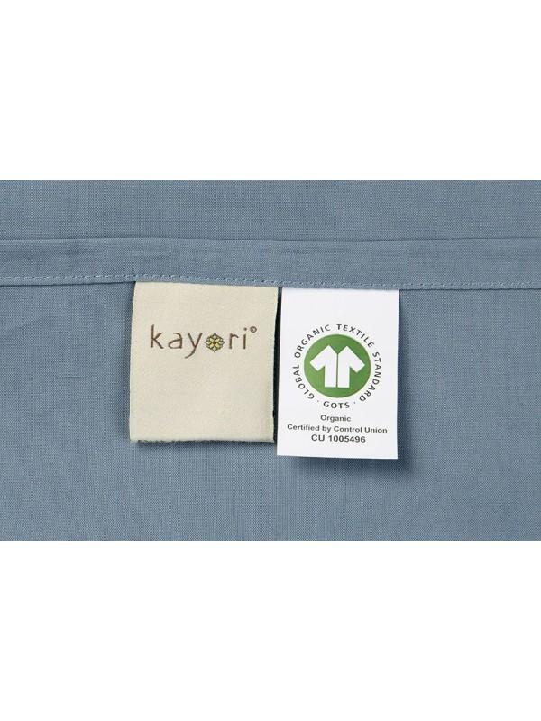 Kayori Shizu - Kussensloop -60x70-2 Stuks-Katoenperkal-Blauw