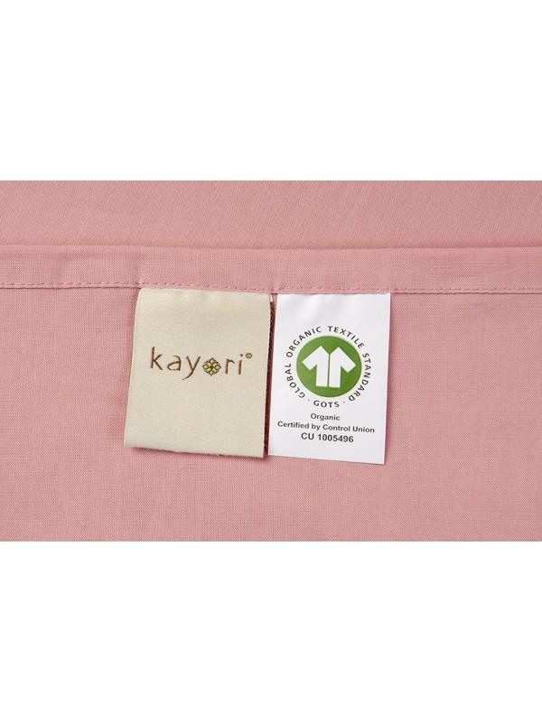 Kayori Shizu -Kussensloop-60x70-2 Stuks-Katoenperkal-Oudroze
