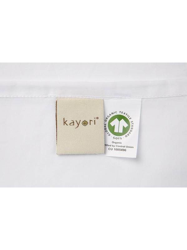 Kayori Shizu - Kussensloop - 60x70-2 Stuks -Katoenperkal-Wit