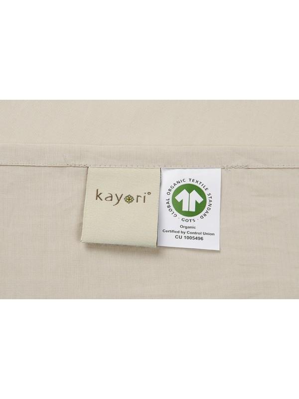 Kayori Shizu - Kussensloop - 60x70-2 Stuks-Katoenperkal-Zand