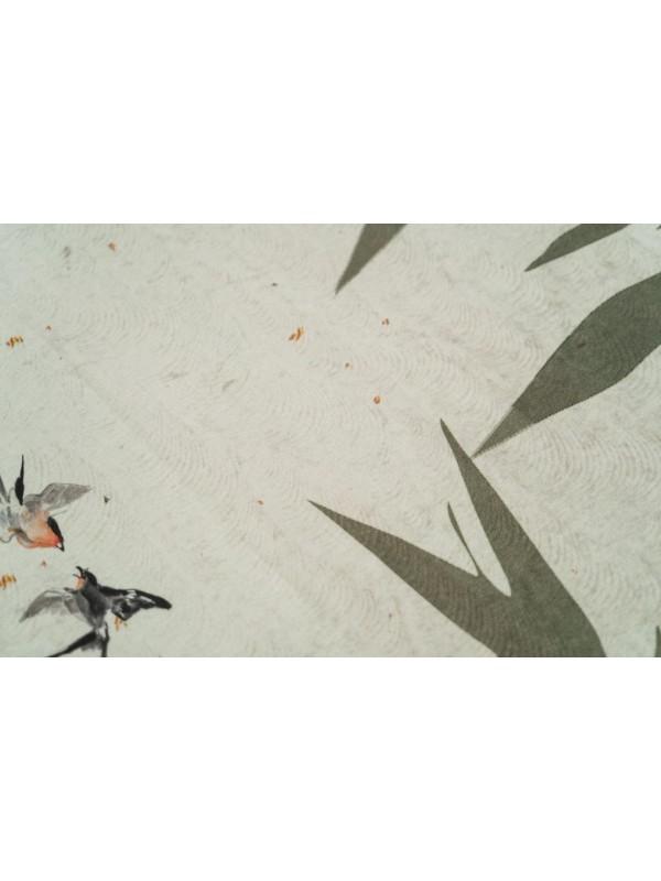 Kayori Lin - DBO - Katoensatijn - Naturel