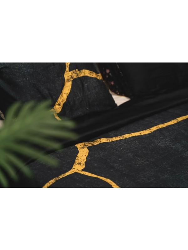 Kayori - Yoshi - DBO - Katoensatijn - Zwart