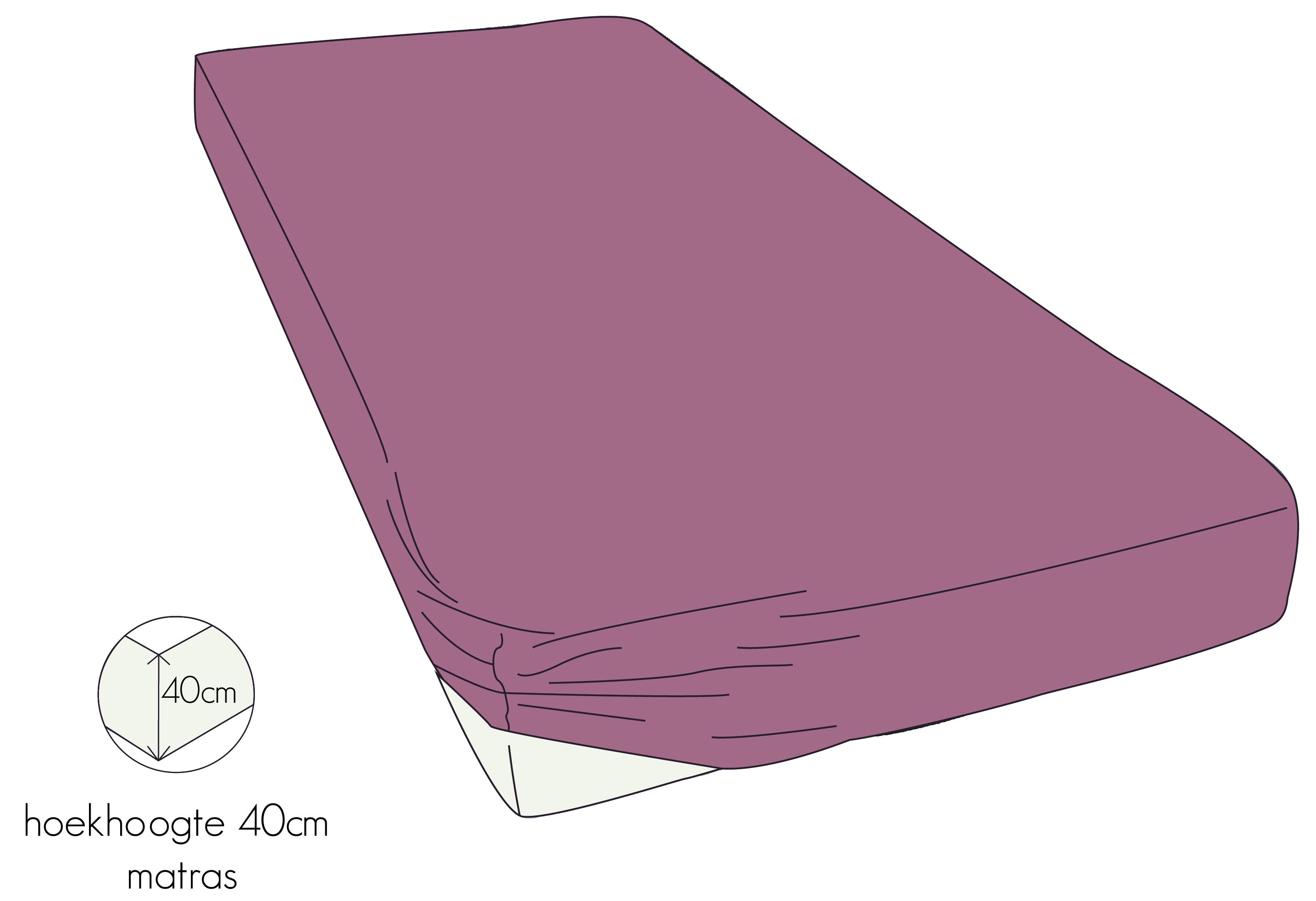 kayori hoeslaken matras perkal oudroze